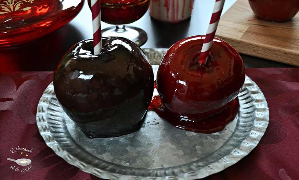 "Receta de manzanas de caramelo ""envenenadas"""