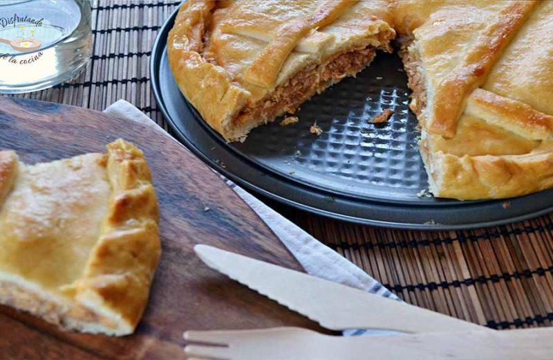 Receta de masa para empanada gallega