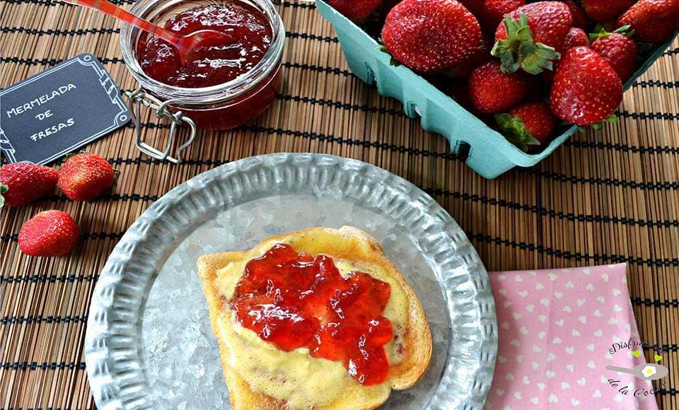 Receta de mermelada de fresas casera