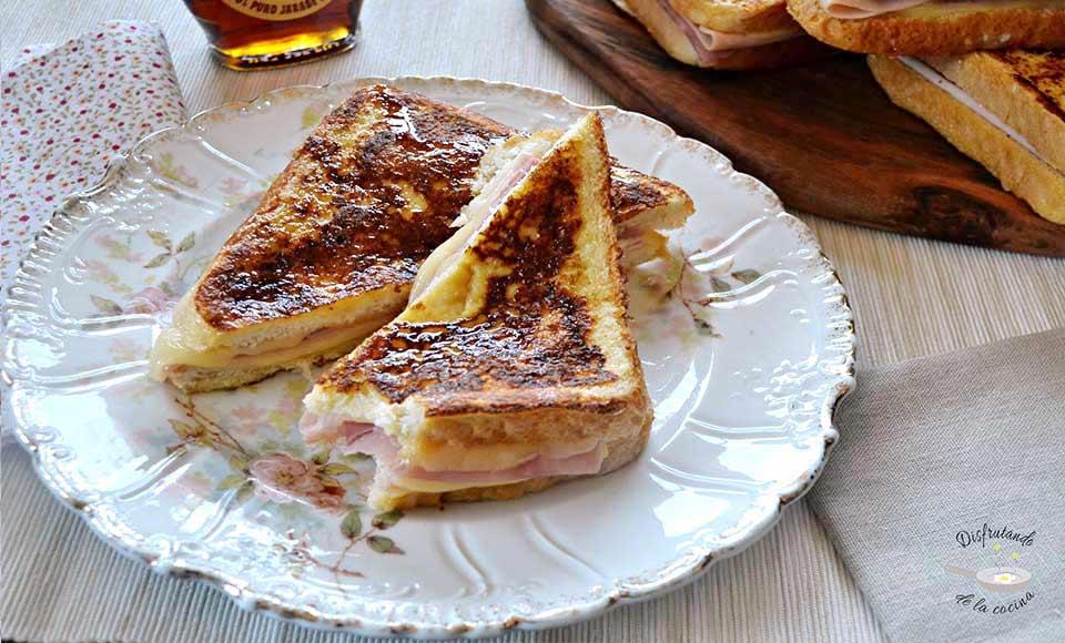 Receta de sándwich Montecristo