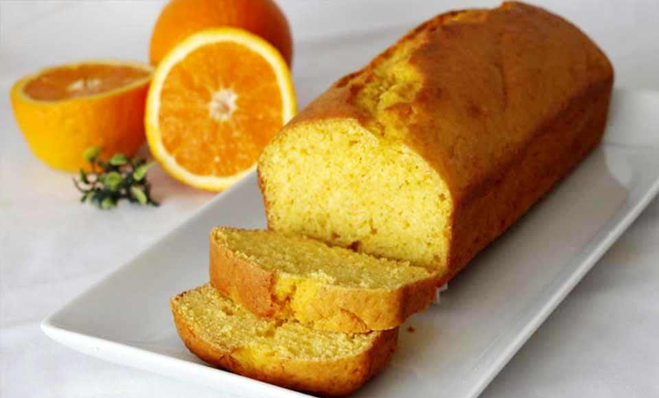 Receta de bizcocho de naranja casero