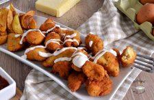 Receta de pollo frito crujiente casero