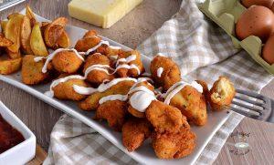 Crispy chicken o pollo frito crujiente casero