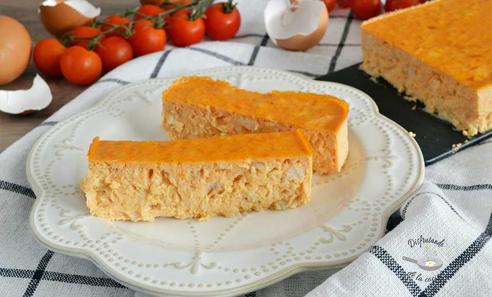 Receta de pastel de merluza casero