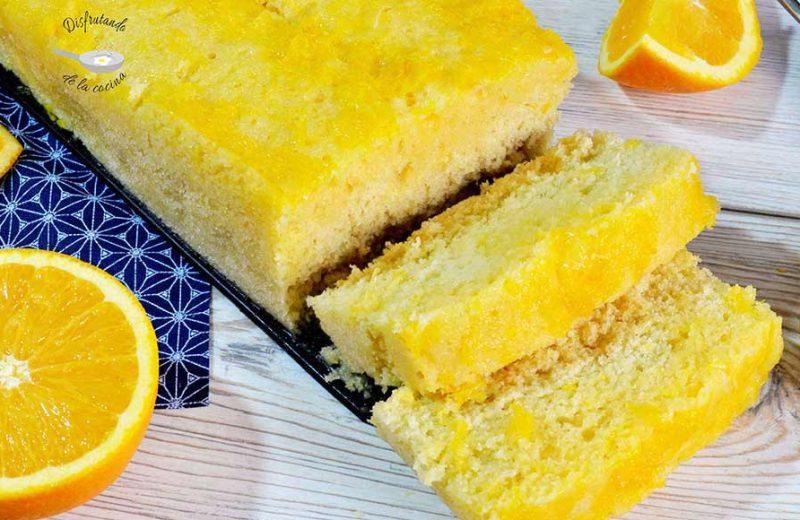 Receta de bizcocho de naranja 5 minutos al microondas