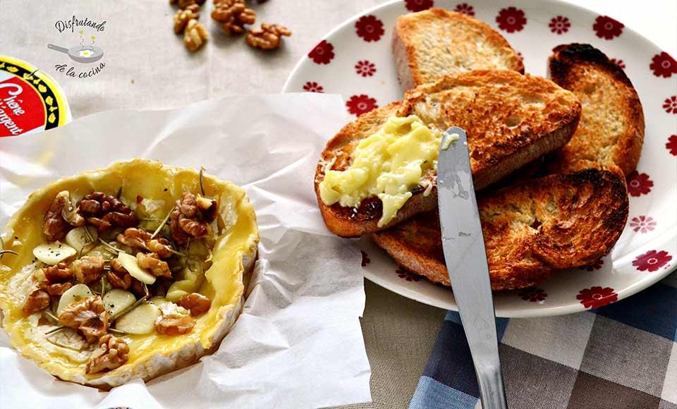 Cómo hacer camembert al horno fácil y delicioso