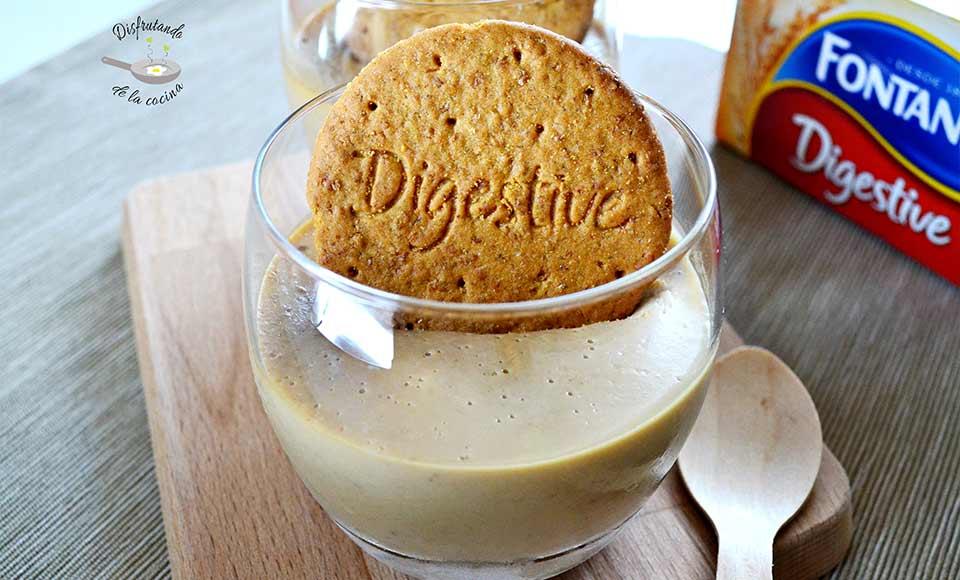 Cómo hacer una crema de galletas y caramelo. Receta fácil
