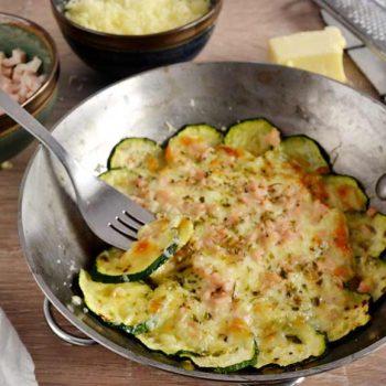 Receta de fritata de calabacín y queso